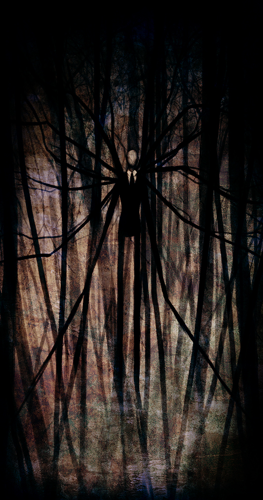 What is among us?  The_Slender_Man_by_Pirate_Cashoo