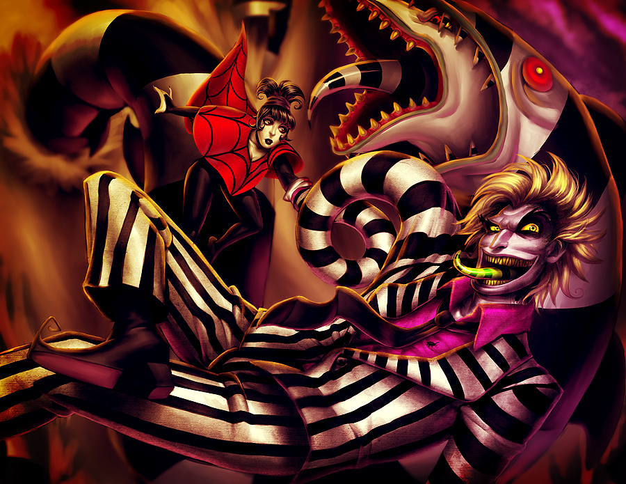 BEETLEJUICE by Pirate-Cashoo