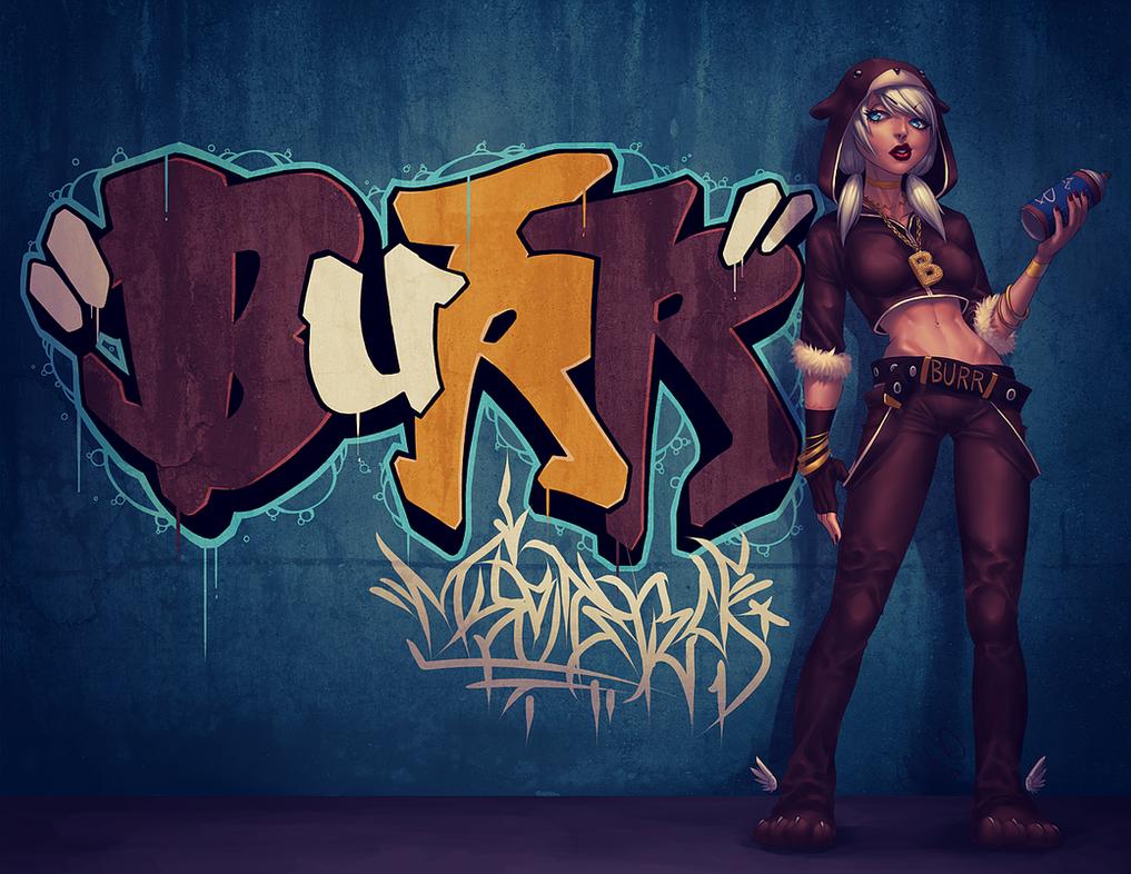BURR by Pirate-Cashoo