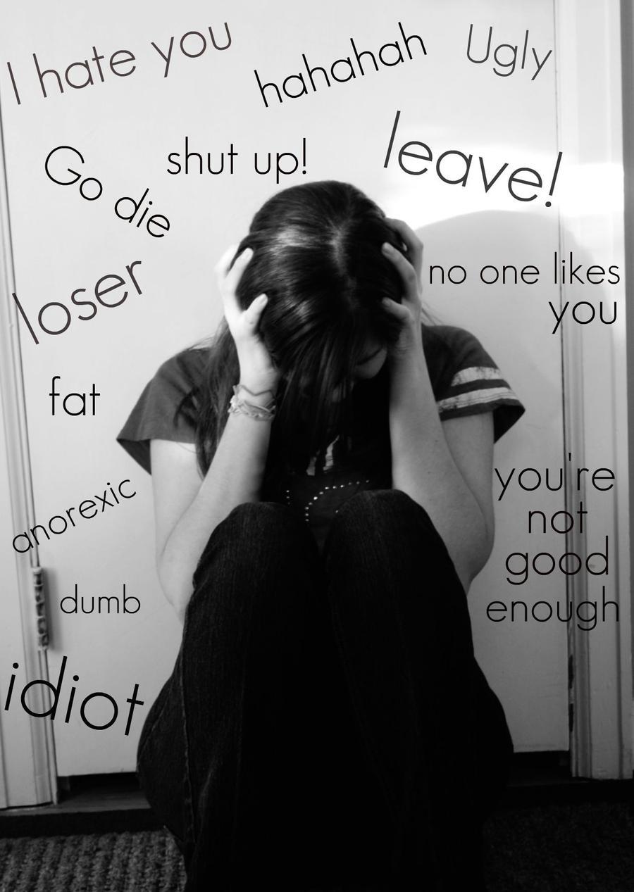 girls behavior breaking with mentally emotionally