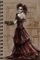 Mrs. Lovett by Aerhalev