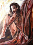 Arianna en prision by Aerhalev