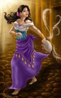 Valentina as Esmeralda by Aerhalev