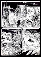 Vampire Comic by Aerhalev