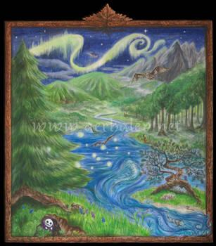 Portal al Bosque Encantado by Aerhalev