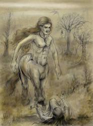 El Centauro y La Elegida by Aerhalev