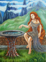 La Fuente de Afrodita by Aerhalev