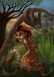 Rainforest Spirits - Mikan