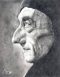Jacques Cousteau by Aerhalev