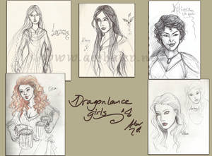 Dragonlance girls