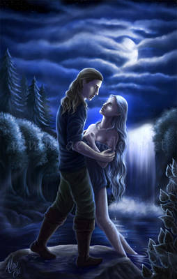 Painted in Silver Moonlight