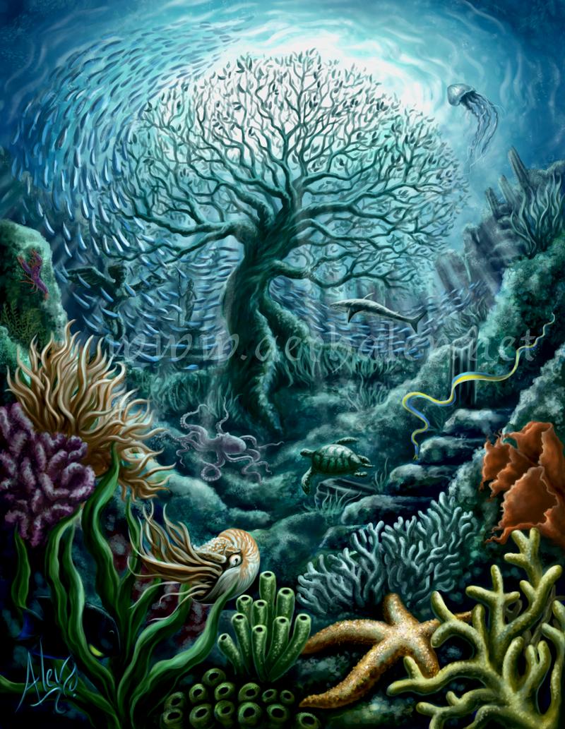 Undersea Witness by Aerhalev