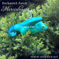 Enchanted Forest Murcielragon Pendant by Aerhalev