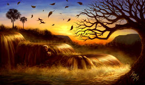 Golden Cadence by Aerhalev