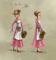 Flower Lady Concept