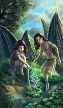 Young Maeliux and Meridae