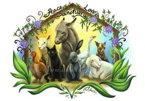 Peace, love, sanctuary