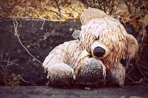 Sad Teddy Bear by WorldII