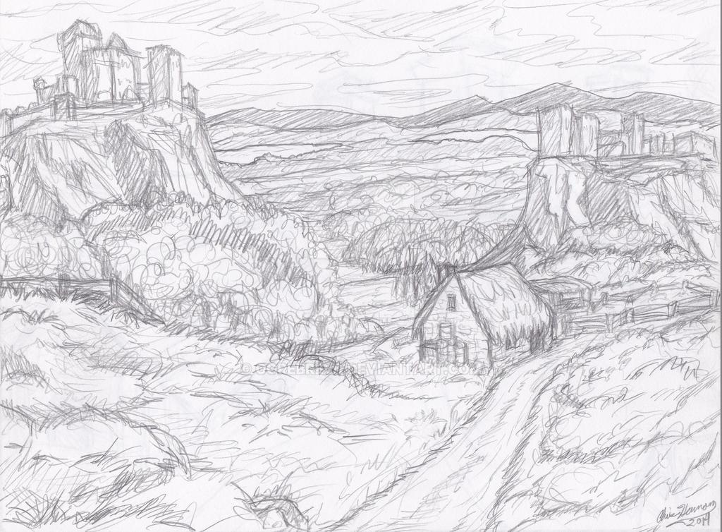 Senery sketch by Ogrebreed