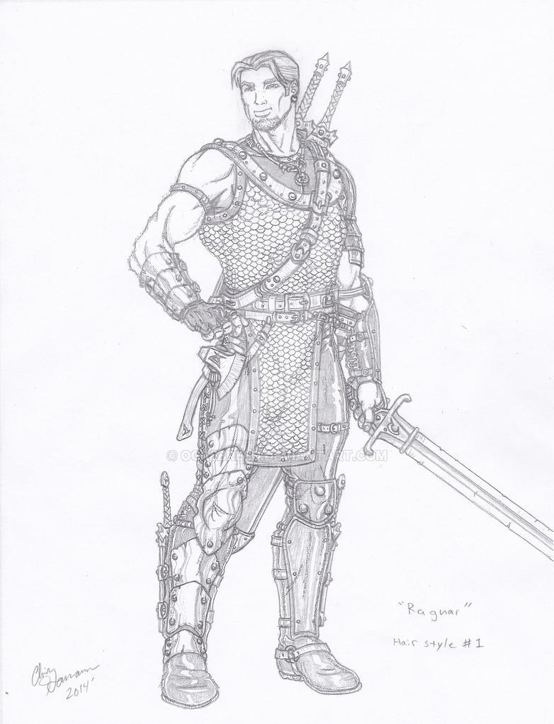 Ragnar, My sellsword by Ogrebreed