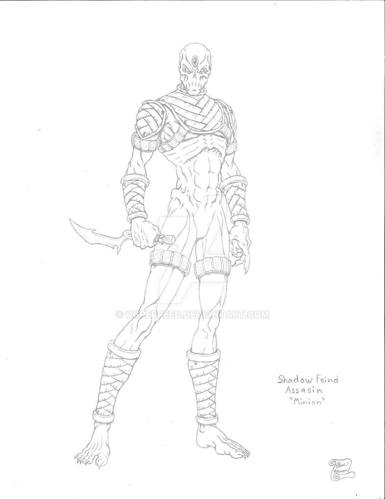 Shadow Feind Assasin by Ogrebreed
