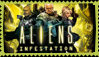 Aliens Infestation Stamp by KillThatZombie