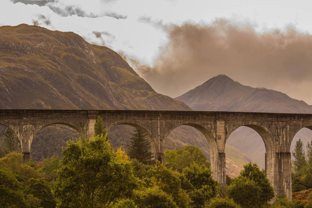 Glenfinnan Viaduct 7 by ikthius