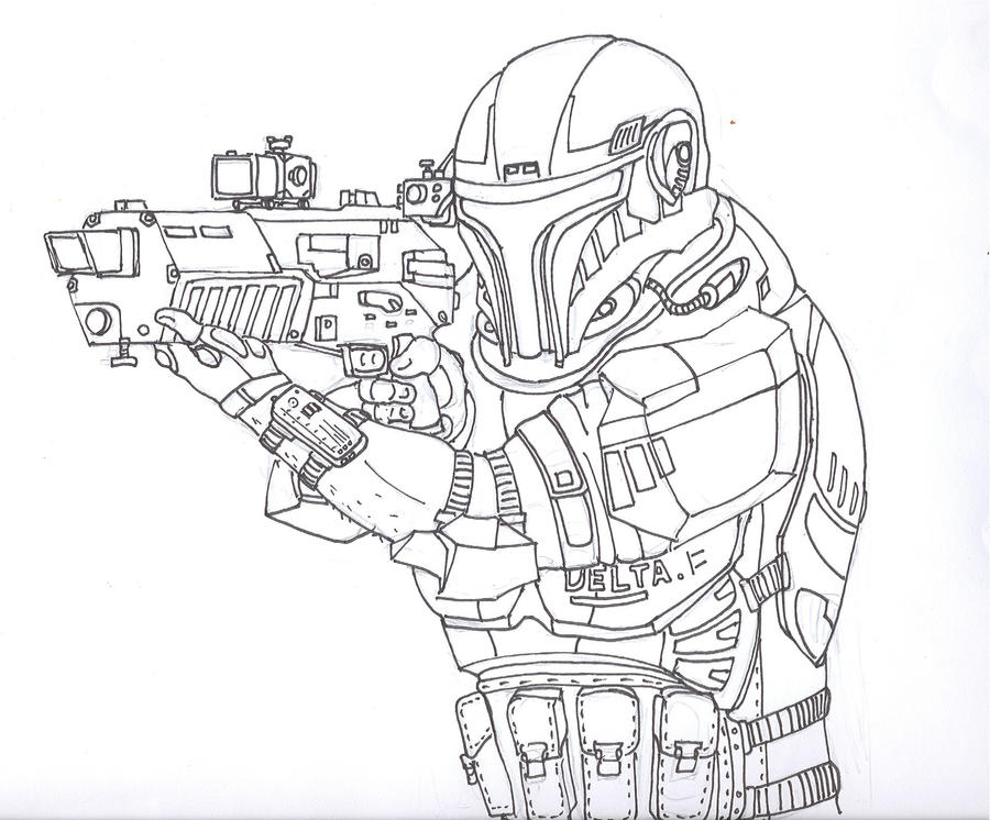 Delta Squad Star Wars Coloring Pages Coloring Pages Clone Coloring Pages