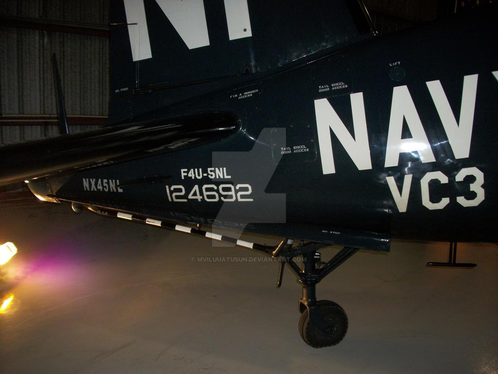 F4U-5NL tail wheel by drivernjax