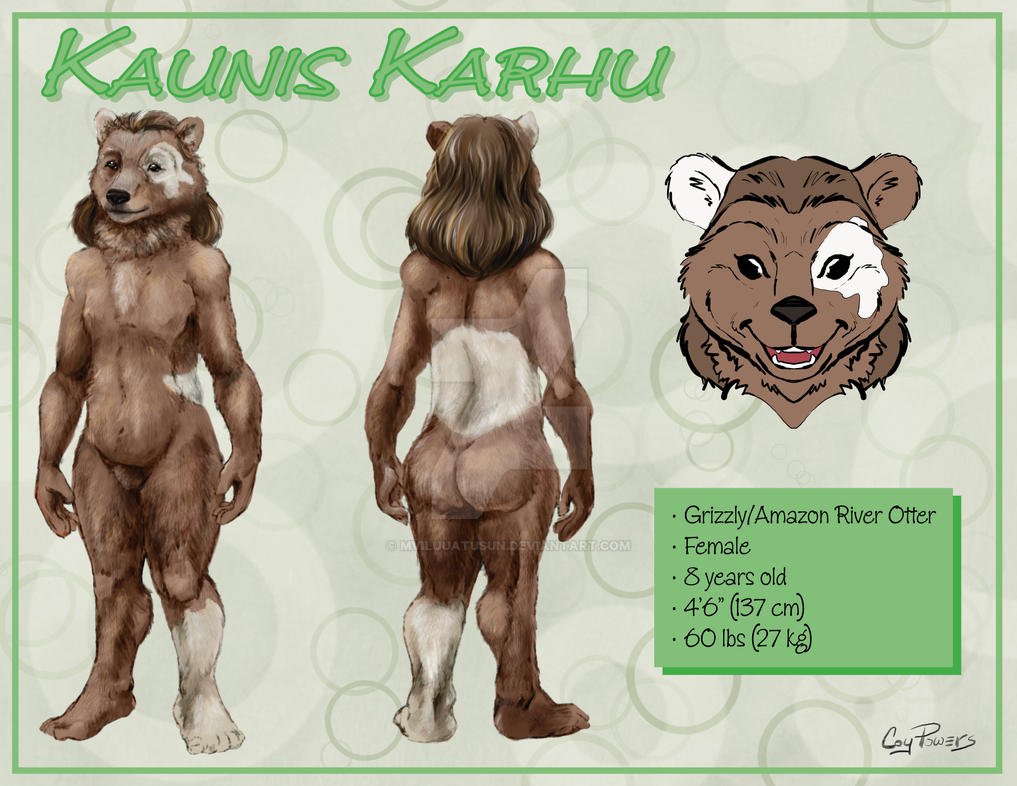 Kaunis Character Sheet by drivernjax