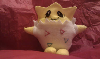 Togepi - Felt plushie by Gwendlyn