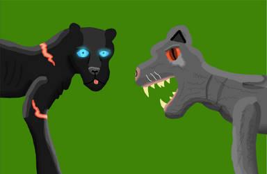 Black and Gray Jaguar by ZenithDragons