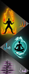 The 4 Elements of Nature ft. Arabic Words by After--Life