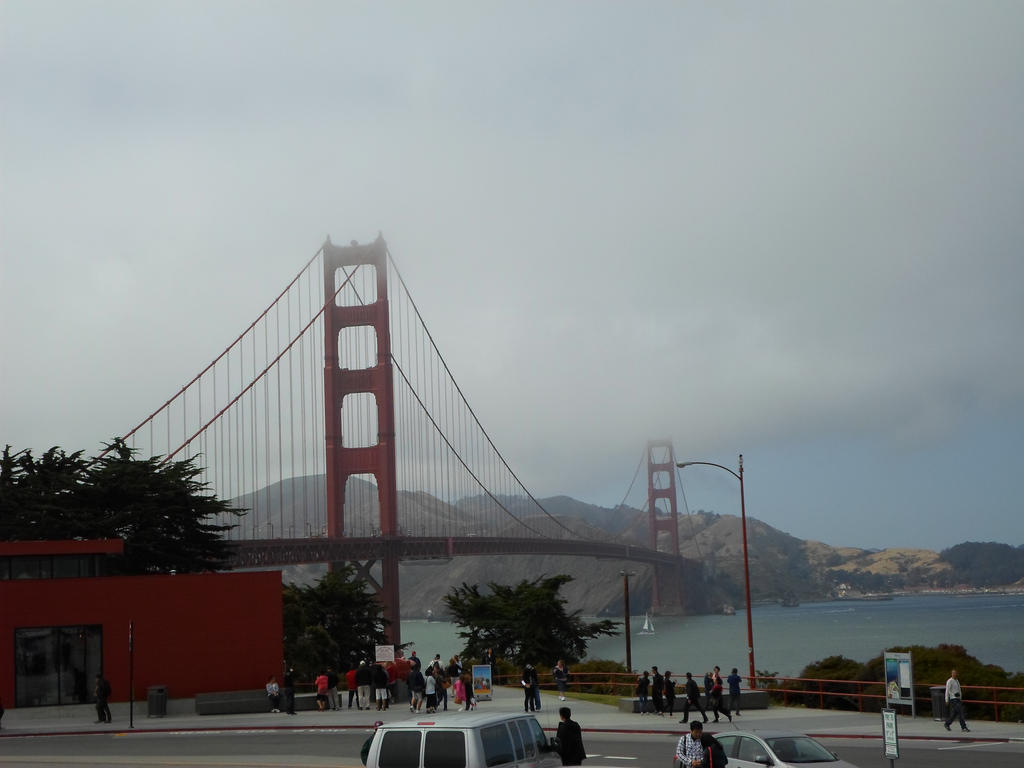 The Golden Gate Bridge by jadewolf34