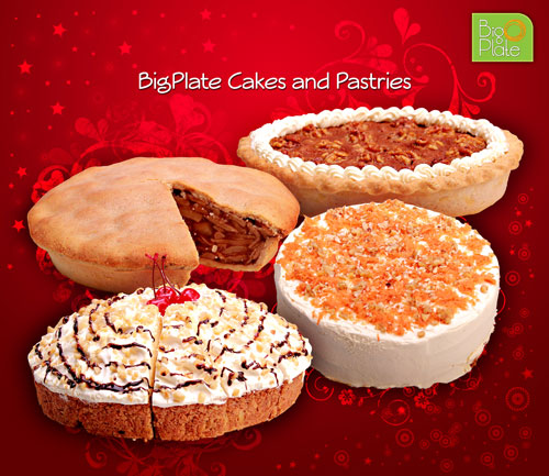 Big Plate Holiday Cakes by victorsantosjr