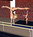 Handstand on Bars