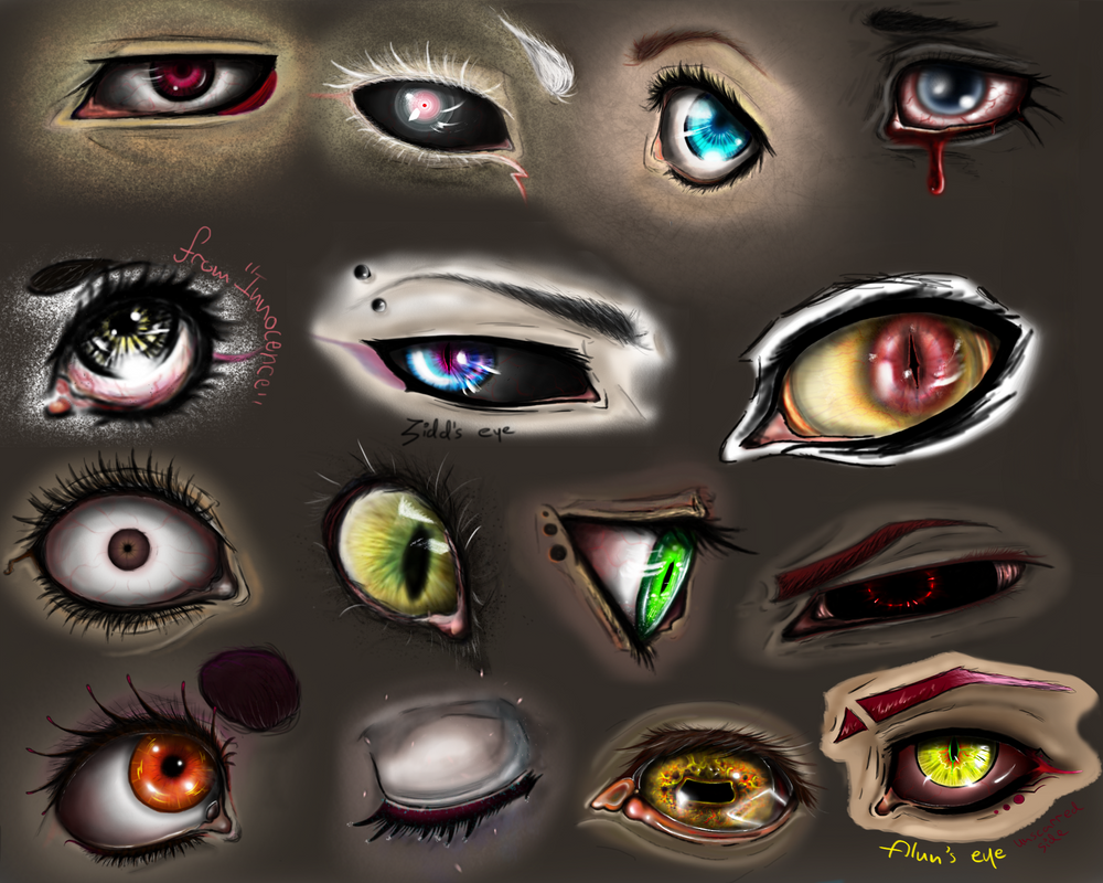 EYES by Dark-funhouse
