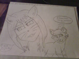 2 Sexy Felines! by AberrantFatCat