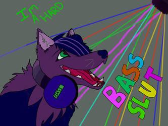 Bass slut by AberrantFatCat