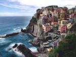 Manarola Italy by K-kare