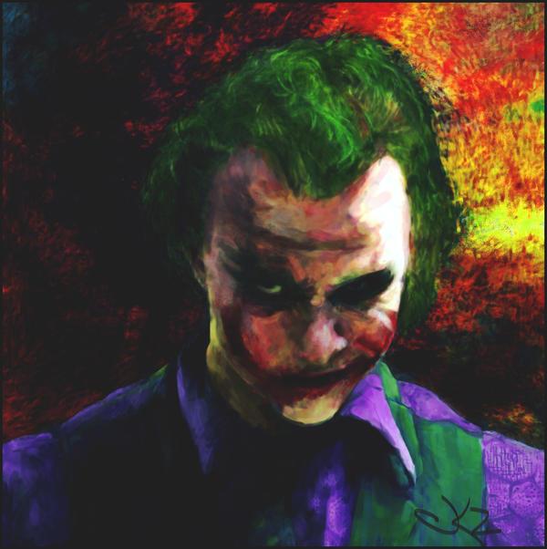 Joker  Why So Serious by K-kare