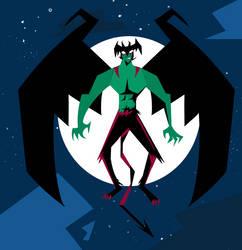 Devilman by cagedcreature