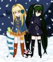 Christmas present for Crui by ksiazeAikka