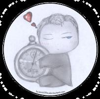 Ianto with a Stopwatch by ksiazeAikka
