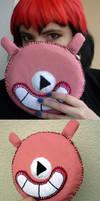 Molly's player plushie by ksiazeAikka