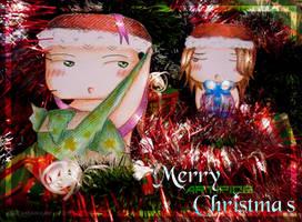 Merry -Aritifice- Christmas XD by ksiazeAikka