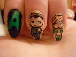 Artifice nails... XD by ksiazeAikka