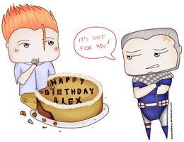 Happy Birthday Alex! by ksiazeAikka