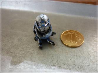 Tiny Garrus :3 by ksiazeAikka