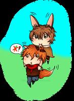 I'm not a carrot! by ksiazeAikka
